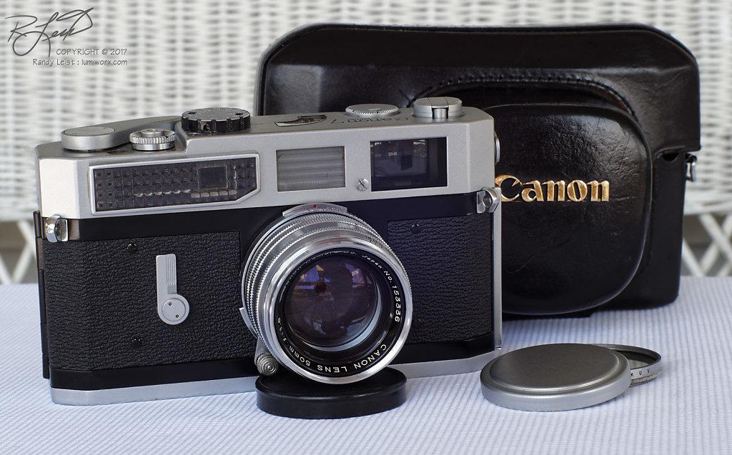 Canon 7 Rangefinder w/ Canon Serenar 50mm f/1.8