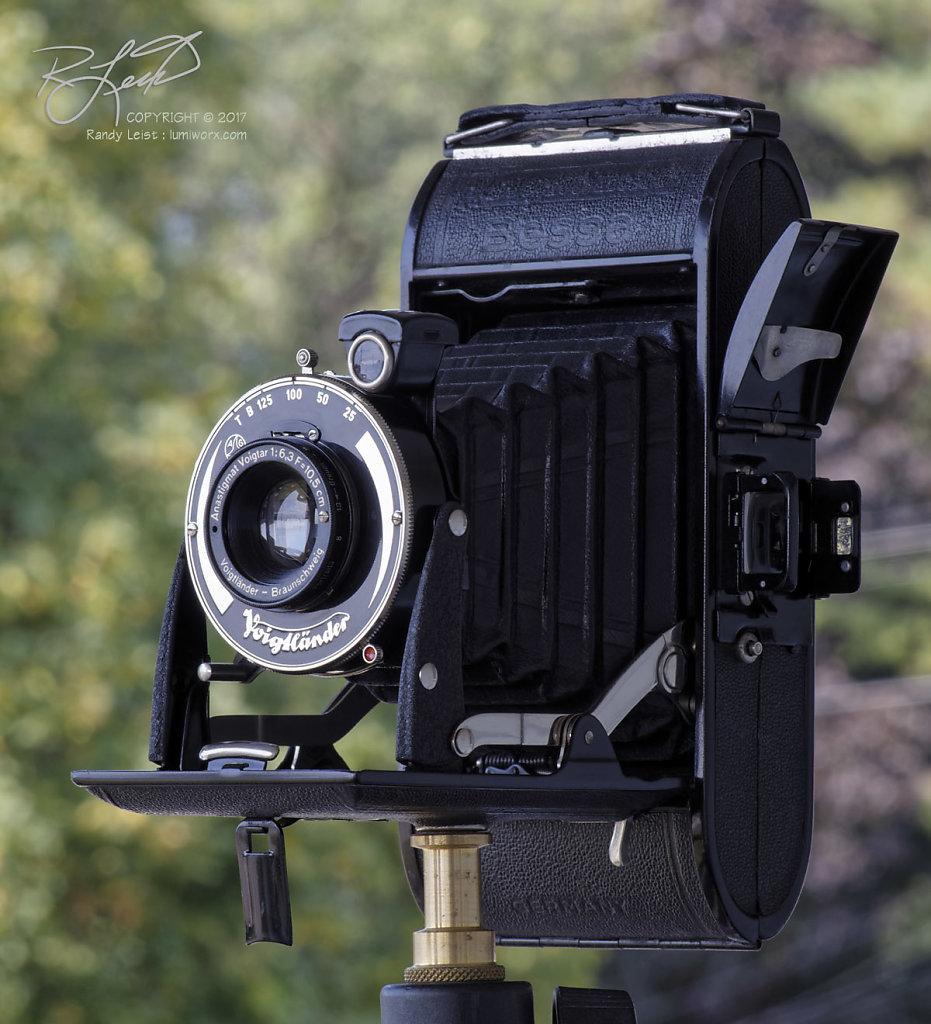 1937/38 Voigtlander Bessa w/ Voigtar 105mm f/6.3