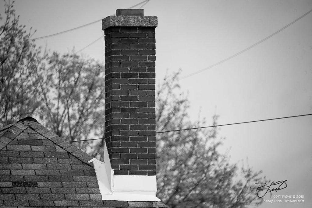 Stove Top Brick - B&W