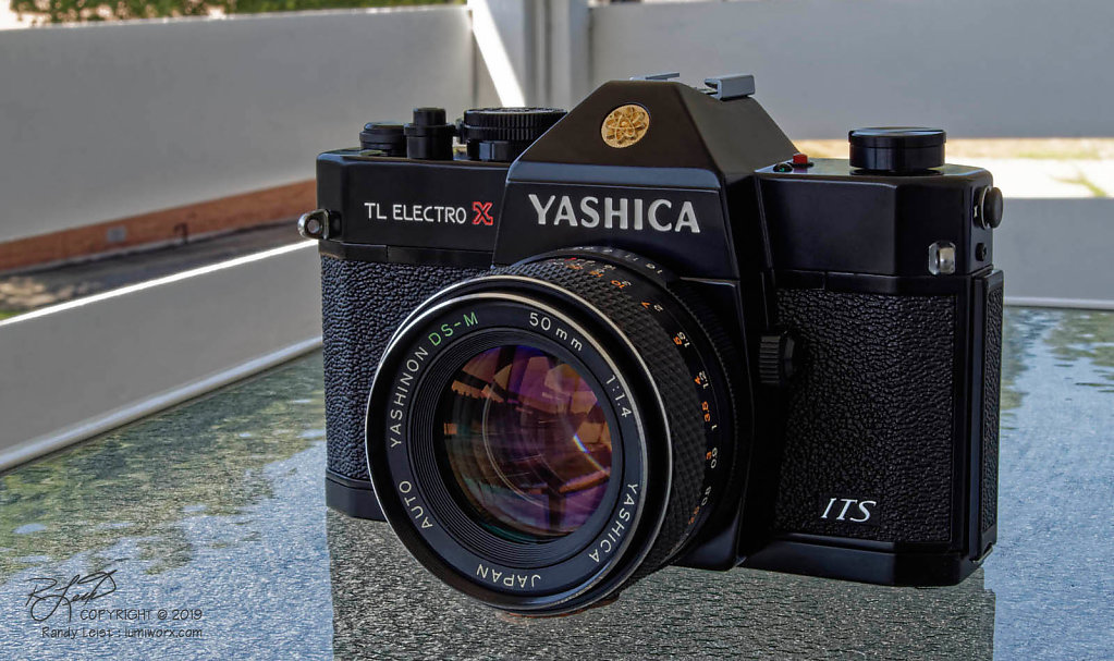Yashica TL Electro X ITS w/ DS-M 50mm f/1.4