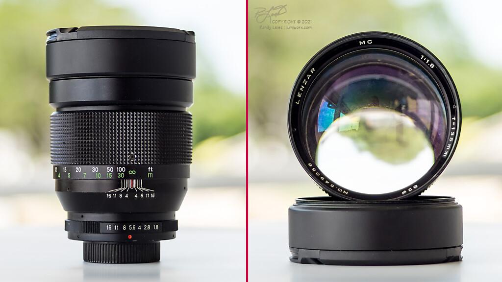 Lenzar 135mm f/1.8 ultra fast telephoto